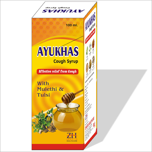 Herbal Cough Syrup with Honey, Mulethi & Tulsi