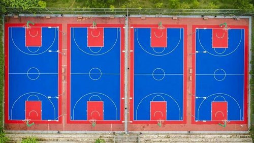 Synthetic Acrylic Tennis Court 3 Layer Systems