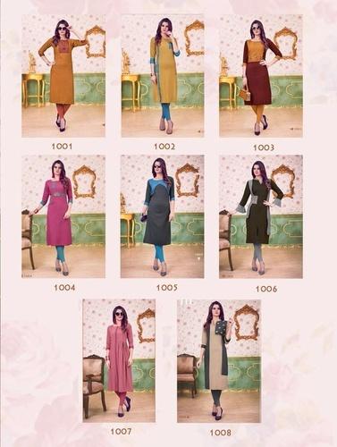 Amore Design Viyana Vol-1 Handwork Kurti Online