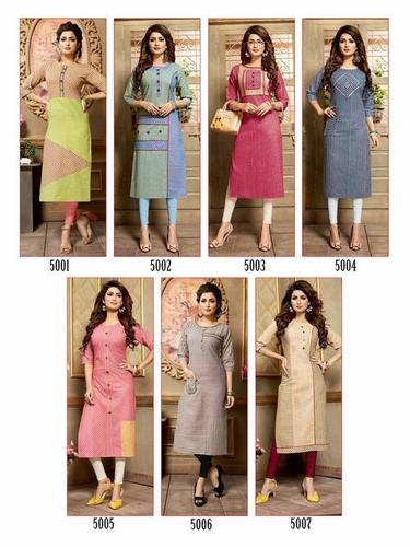 Ananya Manas Design Handloom Cotton Kurti Catalog