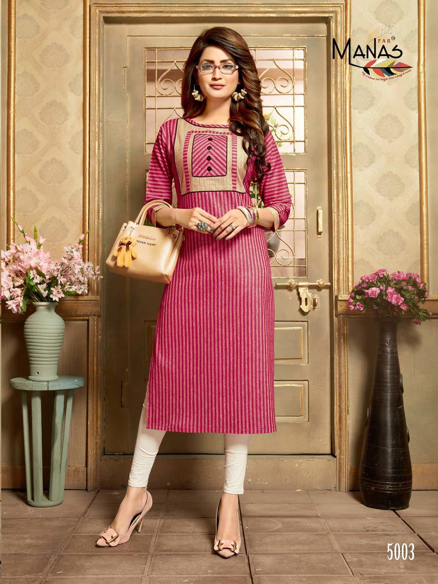 Ananya Manas Design Handloom Cotton Kurti