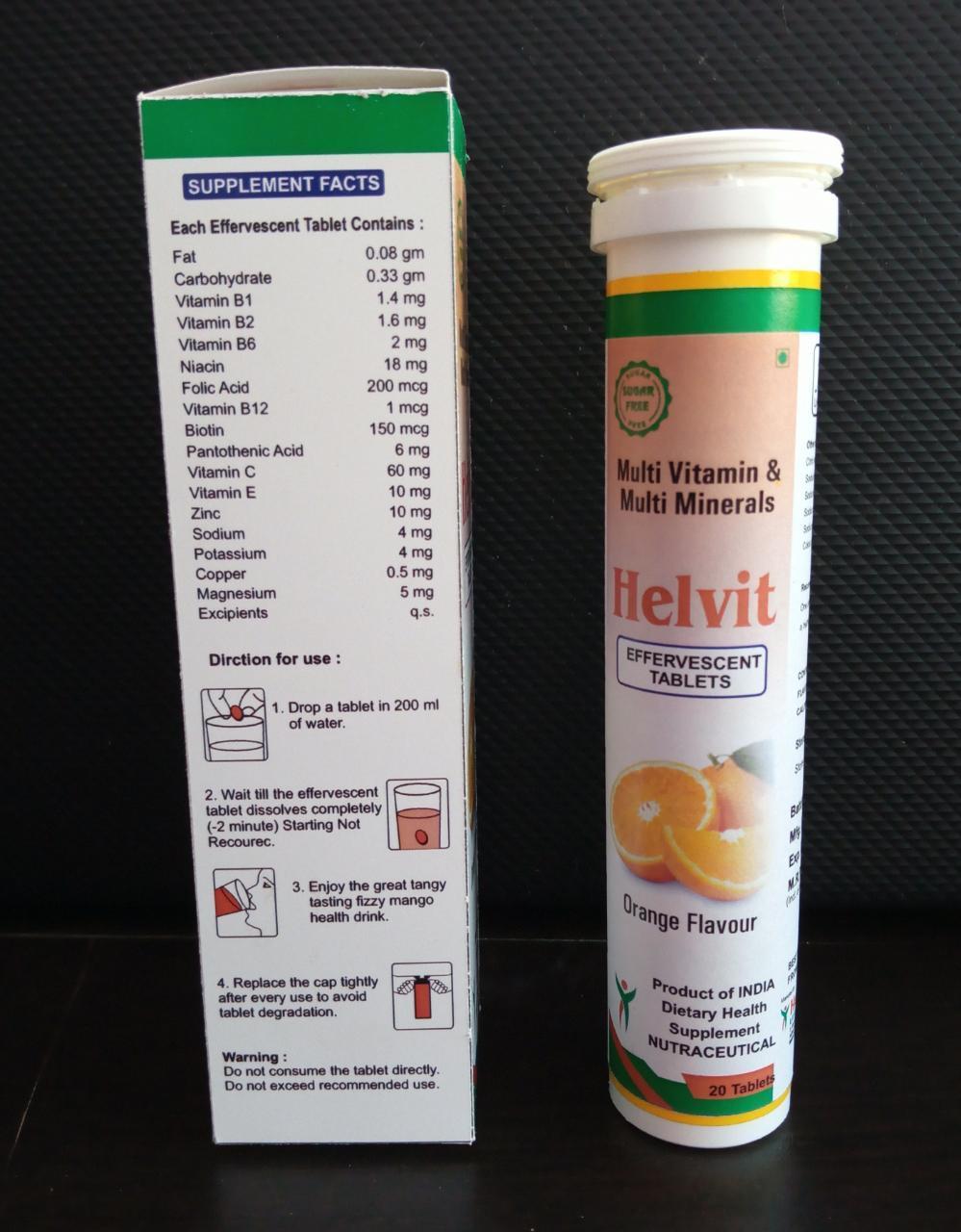 Multivitamin Effervescent Tablet