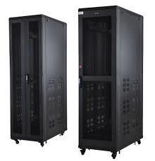 Netrack 42U 600mm X 1000mm Floor Mount Server Rack with Perforated Doors
