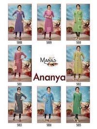 Ananya Vol-2 Manas Handloom Cotton Casual Kurti