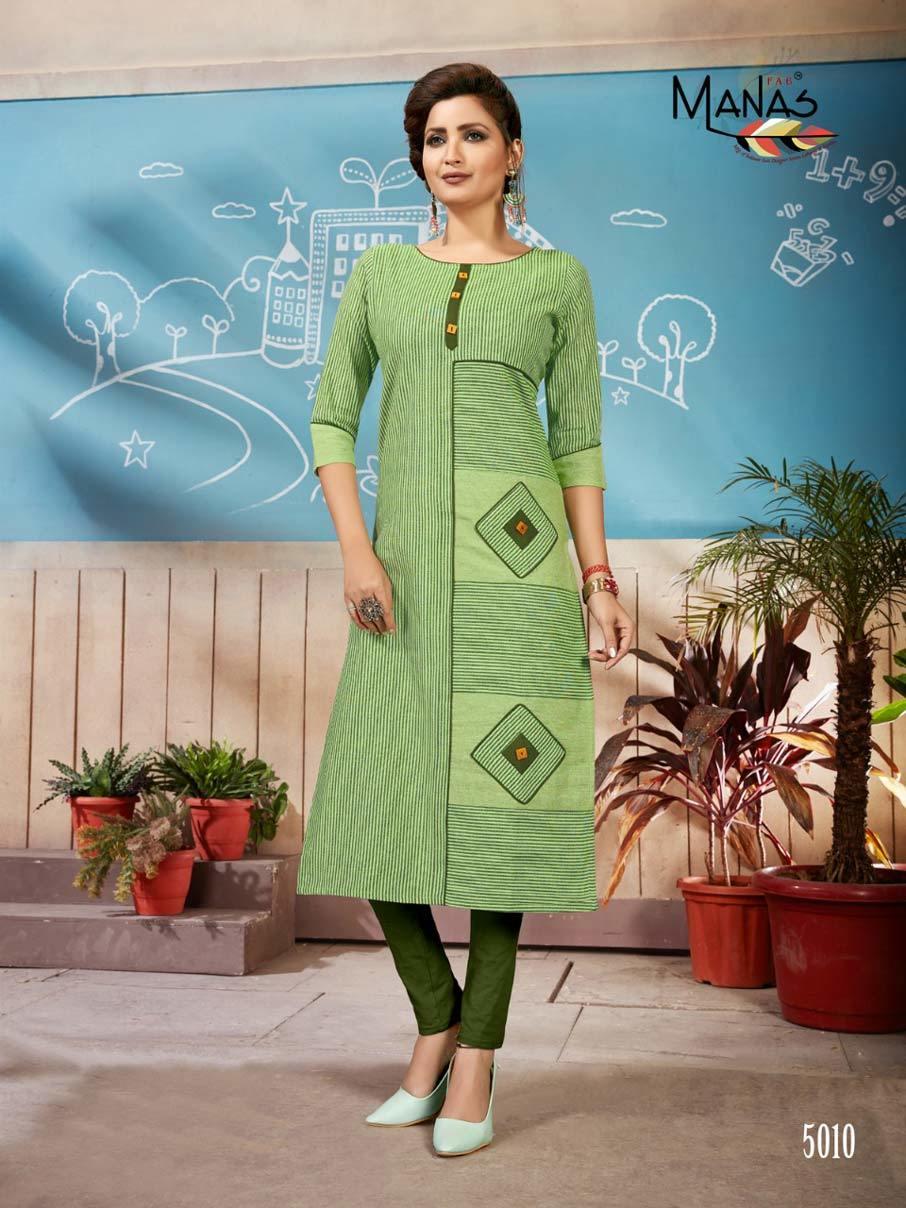 Ananya Vol-2 Manas Handloom Cotton Casual Kurti
