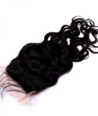 Hairkartt 4 x 4 Swiss Lace Closure Natural Wavy Hair