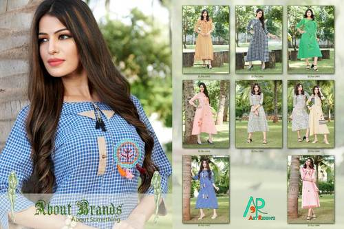 Anaya Artriddhs Design South Cotton Handloom Kurti