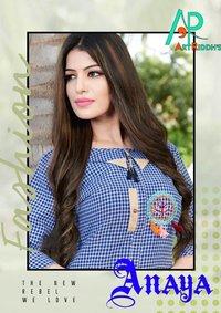 Anaya Artriddhs Design South Cotton Handloom Kurti