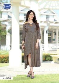 Anika Kriyansh Textiles Heavy Rayon Kurtis
