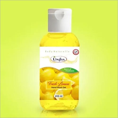 Unjha Hand Wash Gel (Fresh lemon)