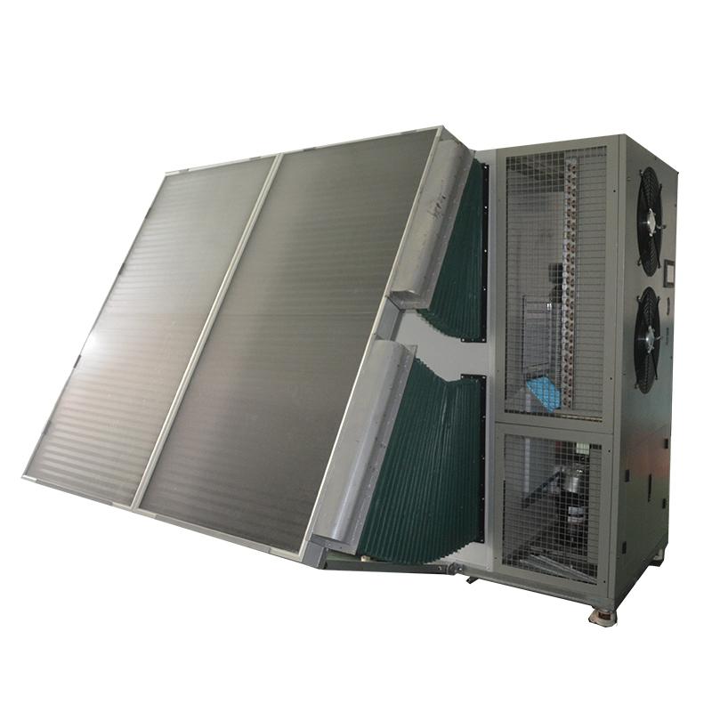 Solar heat pump electric food dehydrator