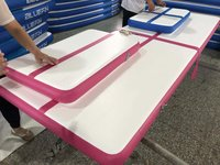 Training mats, Inflatable air tumbling mats, outdoor park inflatable air track with 300cm to 600cm