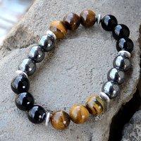 Multi Stone Silver Bracelet PG-156249