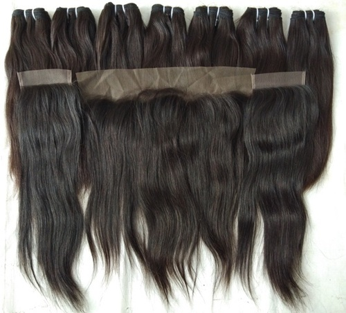Vintage unprocessed Straight hair