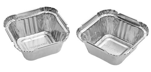 Paramount 120 Ml Disposable  Aluminium Foil  Food Container