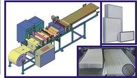 Mini Pleating Machine with Hot Melt separation