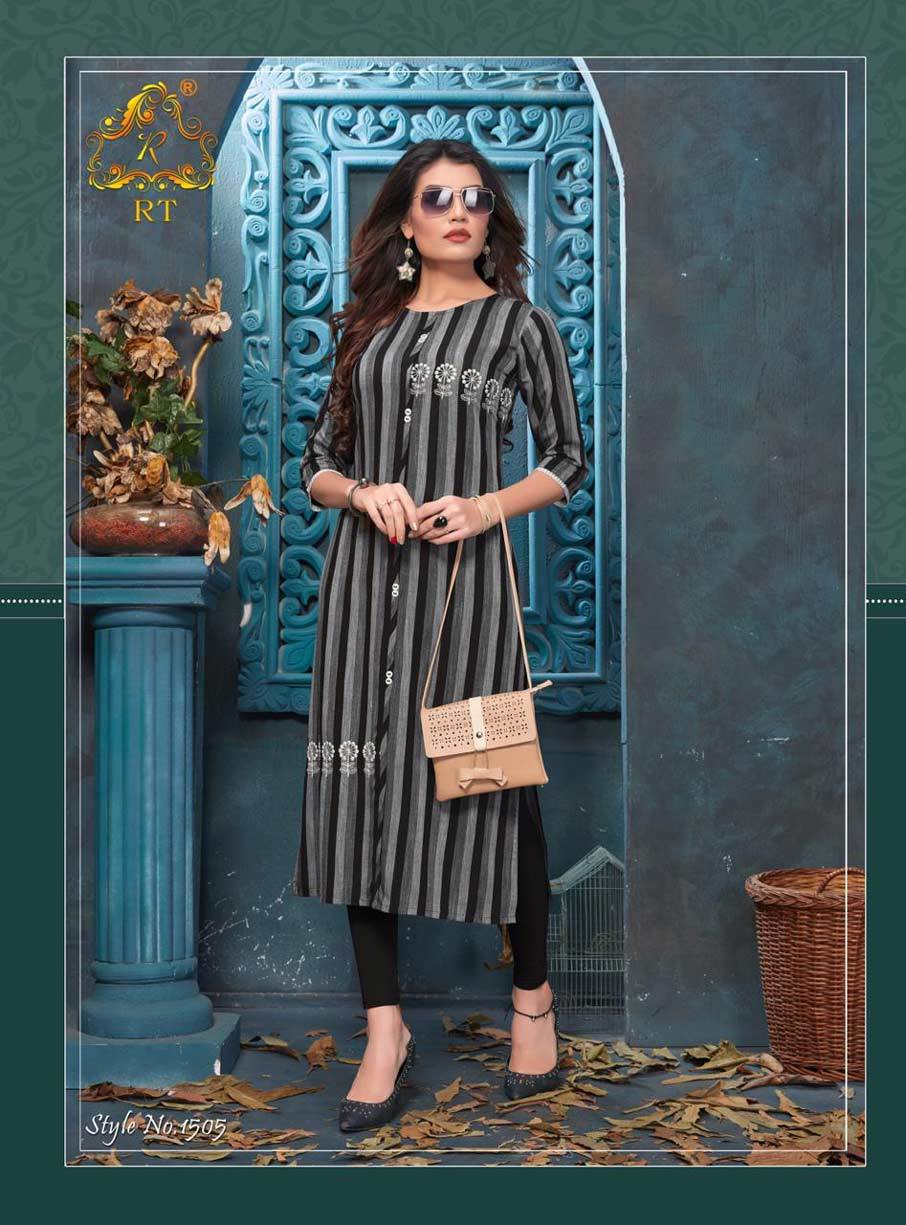 Antra RT Embroidery Casual Kurti