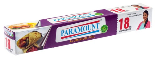 Paramount 18 Mtr Food Grade Aluminium Foil Roll (Pack of 1)