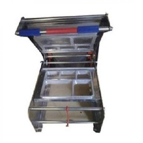 Semi Automatic 5 Box Thali Sealing Machine