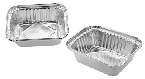 Paramount 450 Ml Disposable  Aluminium Foil  Food Container