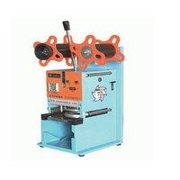 Manual Semi Auto Cup Sealing Machine