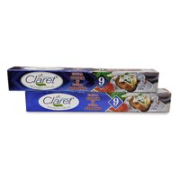 Claret 9 Mtr Food Grade Aluminium Foil Roll (Pack of 2)