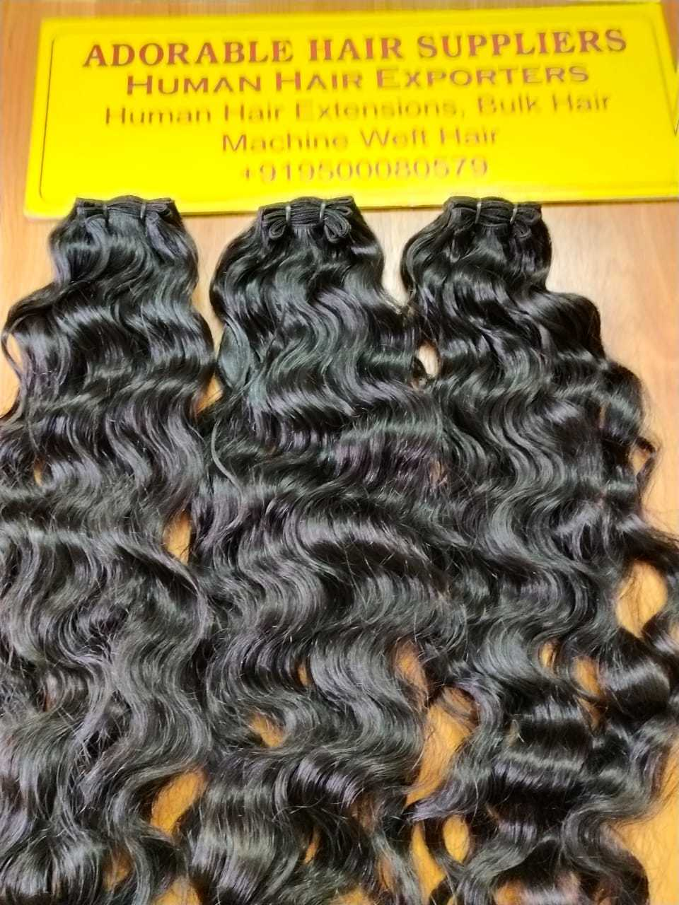 Indian Virgin Curly Hair Weft