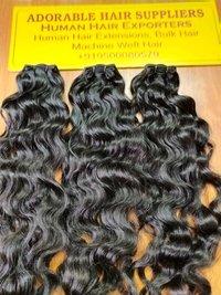 Indian Virgin Curly Hair Weft