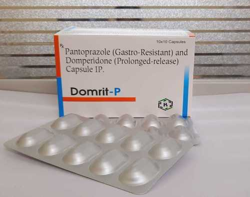 PANTOPRAZOLE AND DOMPERIDONE (PROLONGED-RELEASE) CAPSULE IP.