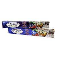 Claret 18 Mtr Food Grade Aluminium Foil Roll (Pack of 2)