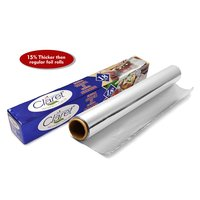 Claret 18 Mtr Food Grade Aluminium Foil Roll (Pack of 2)