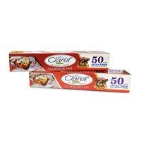 Claret Bahubali 50 Mtr Food Grade Aluminium Foil Roll (Pack of 2)