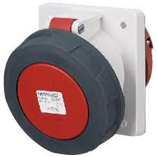 Mennekes 209 IP67 63Amp 5Pin Industrial Socket Angle