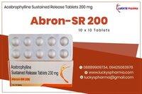 Acebrophylline Sr 200 Tablet