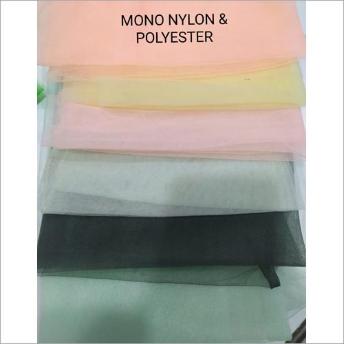 Mono Nylon And Polyester Fabric