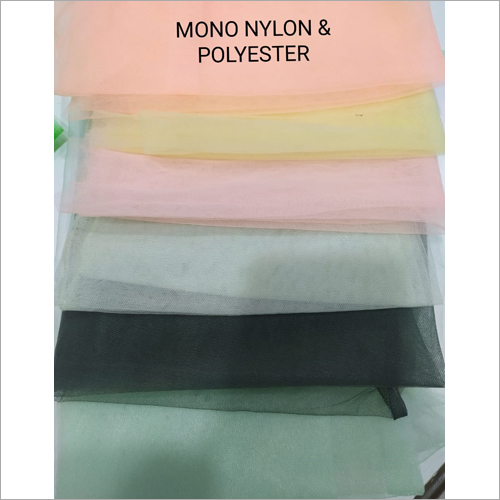 Mono Nylon And Polyester Fabric