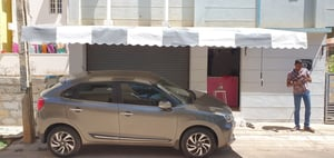 Car Parking Retracatable  Awning