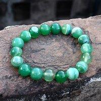 Green Agate Gemstone Bracelet PG-156276