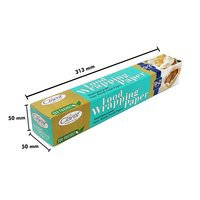 Claret 9+2 Mtr Food Wrapping Parchment Butter Paper Wrap (Pack of 1)