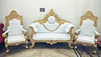 Wooden Wedding Sofa