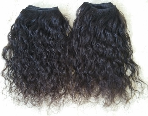 Raw Curly Wavy Hair, Natural Unprocessed Raw Virgin Indian Hair