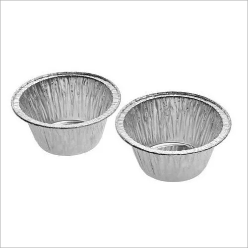 Paramount Muffin Cup (120 ML) disposable  Aluminium Foil  Food Container