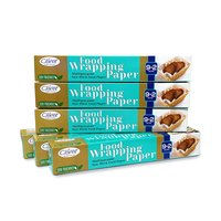 Claret 9+2 Mtr Food Wrapping Parchment Butter Paper Wrap (Pack of 6)