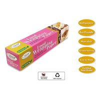 Claret 20+5 Mtr Food Wrapping Parchment Butter Paper Wrap (Pack of 2)