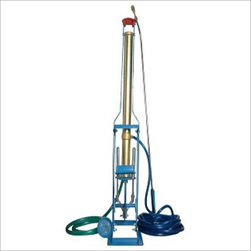 Foot Pump And Double Spring Manual Sprayer