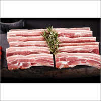 Frozen Pork Belly Slices