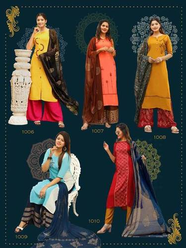 Aradhna Calender Girls Vol-1 Wholesale Kurti