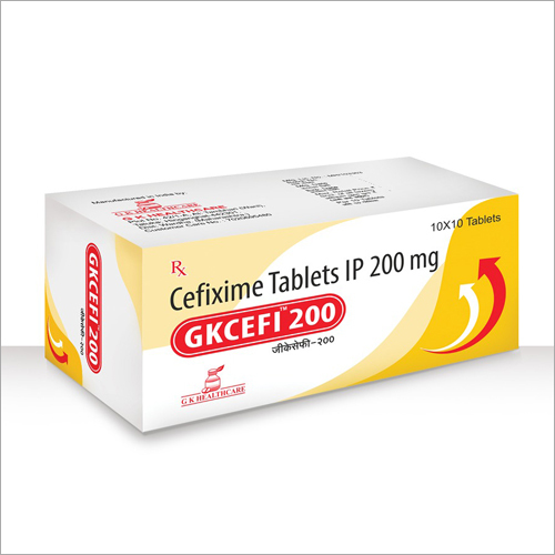 Cefixime Film Coated Tablet IP