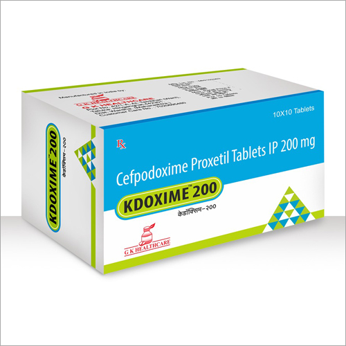 Cefpodoxime Proxetil Tablets IP 200 mg