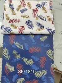 Satin Printed Shirting Fabric